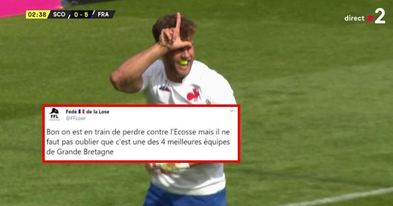 La défaite du XV de France en Ecosse vue par les réseaux sociaux !