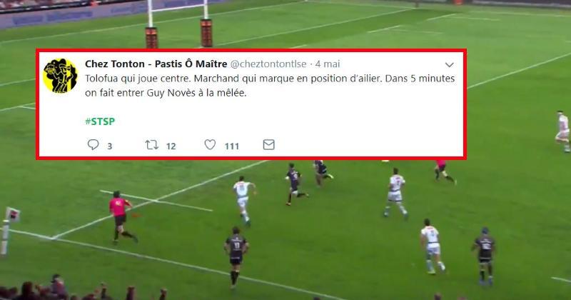 La démonstration du Stade Toulousain face à Pau vue par les réseaux sociaux