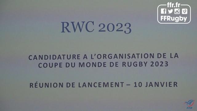 VIDÉO. Coupe du monde 2023 - La France n'a que quelques mois pour boucler son dossier de candidature