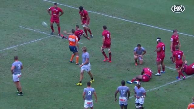 VIDÉO. Super Rugby - La folie de Quade Cooper a encore frappé pour un essai de 100 m