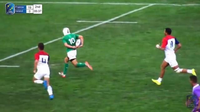 VIDEO. France 7 U18 écœurée par l'Irlande en finale du championnat d'Europe