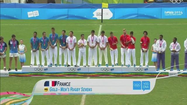 VIDEO. La France championne olympique de rugby à 7 aux Jeux Olympiques de la Jeunesse 2014