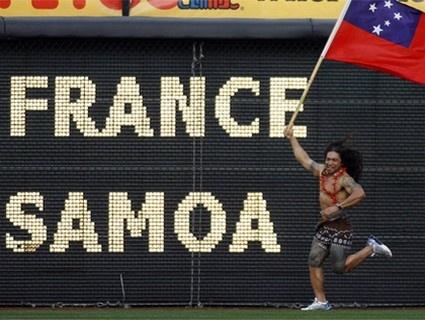 La France passe 40 points aux Samoa