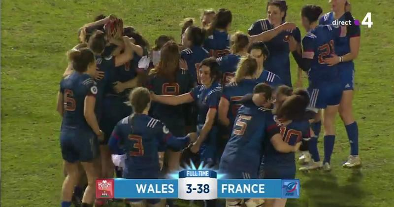 6 Nations Féminin. La France remporte le 5e Grand Chelem de son histoire