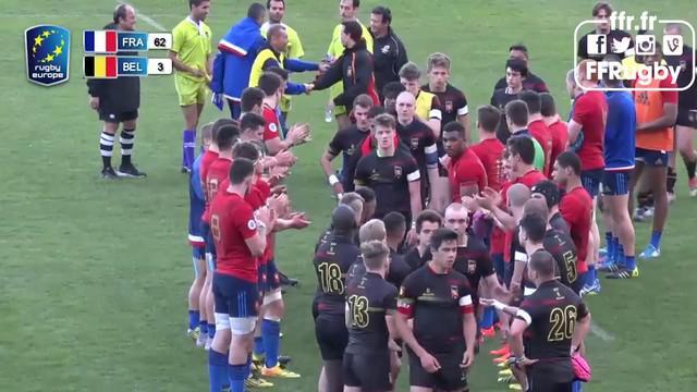 VIDEO. Championnat d'Europe U18. La France se hisse en finale après sa large victoire sur la Belgique
