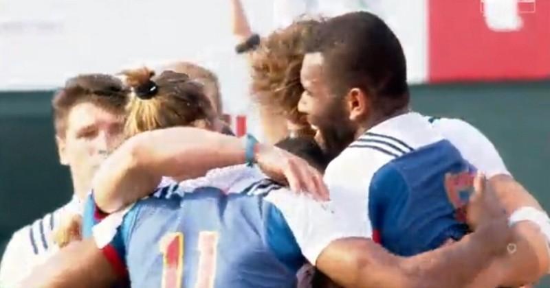 VIDEO. Dubaï 7s - France 7 remporte le Challenge Trophy