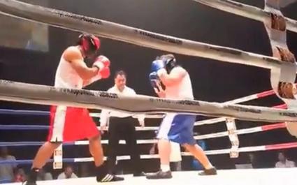 La légende Brian Lima met KO un ancien joueur du XV du Trèfle