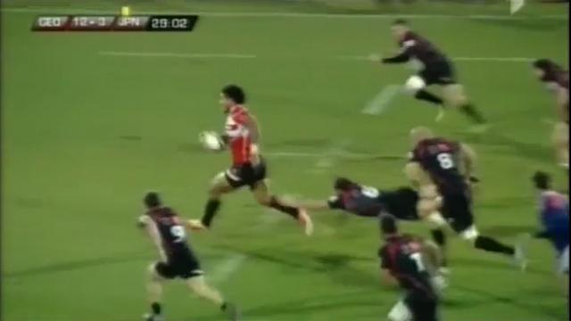 VIDEO. Géorgie - Japon. Le superbe départ d'Amanaki Lelei Mafi pour l'essai de Karne Hesketh
