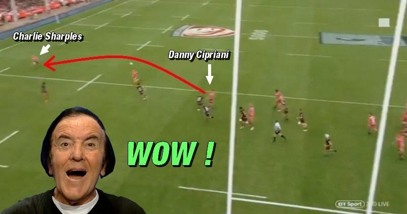 VIDÉO. Premiership - Danny Cipriani a illuminé le Kingsholm Stadium d'une passe