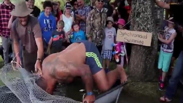 VIDEO. INSOLITE : Les Waikato Chiefs inventent un nouveau type de préparation
