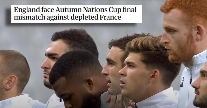 La presse anglaise dézingue le XV de France avant la finale