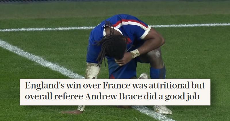 La presse anglaise retourne discrètement sa veste sur le XV de France