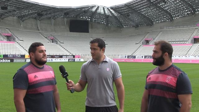VIDEO. Top 14 - Laurent Sempéré joue les journalistes et interviewe les recrues du Stade Français