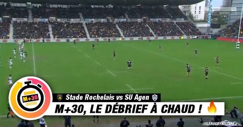 Top 14 - 14e journée. La Rochelle vs Agen - Le M+30 du Rugbynistère