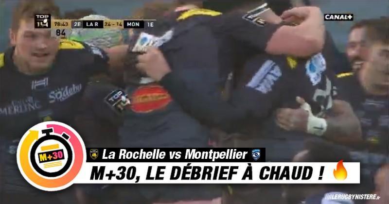 Top 14 - 12e journée. La Rochelle vs Montpellier - Le M+30 du Rugbynistère