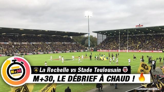 Top 14 - 8e journée. La Rochelle vs Toulouse. Le M+30 du Rugbynistère