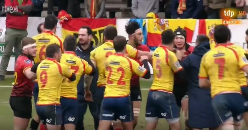 Rugby: le match Belgique - Espagne ne sera pas rejoué