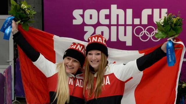 VIDEO. L'internationale canadienne Heather Moyse est championne olympique