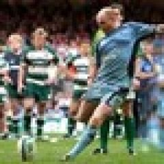La série de tirs aux buts entre Cardiff et Leicester en demi finale de HCup