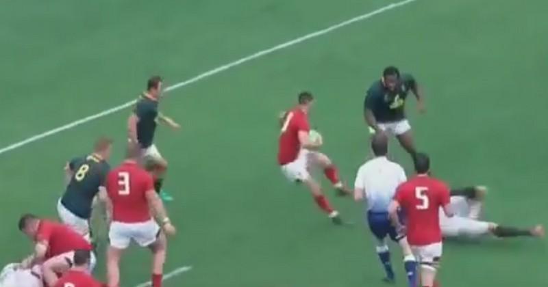 VIDEO. La toupie infernale du Gallois Tomos Williams face aux Springboks