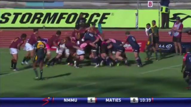 VIDEO. La Varsity Cup inaugure le double arbitrage