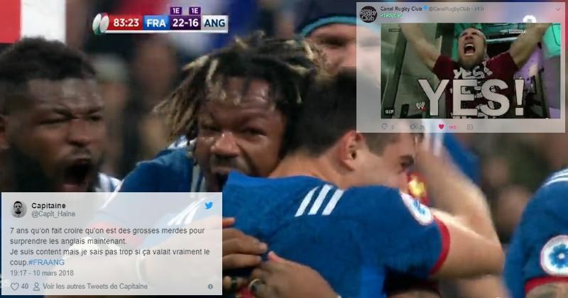 6 Nations 2018 - La victoire de la France sur l'Angleterre vue par les réseaux sociaux