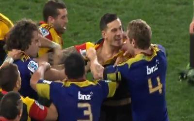 La victoire des Chiefs contre les Highlanders