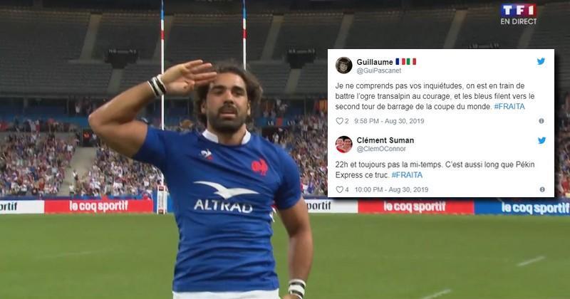 La victoire du XV de France sur l'Italie vue par les réseaux sociaux