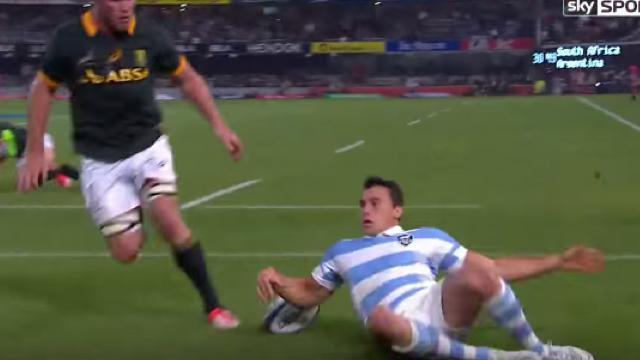 VIDÉO. La victoire historique de l'Argentine en Afrique du Sud avec un triplé de Juan Imhoff