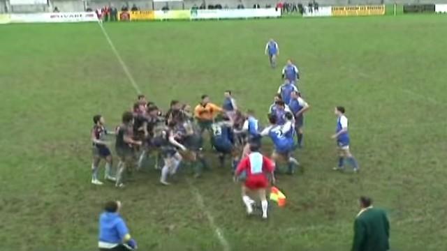 La vie du rugby amateur : la bagarre générale