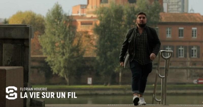 ''La vie sur un fil'', le reportage sur la fin de carrière prématurée de Florian Houérie (Castres)