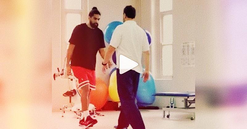 L'abnégation de Michael Fatialofa pour marcher est une véritable leçon de vie [VIDEO]