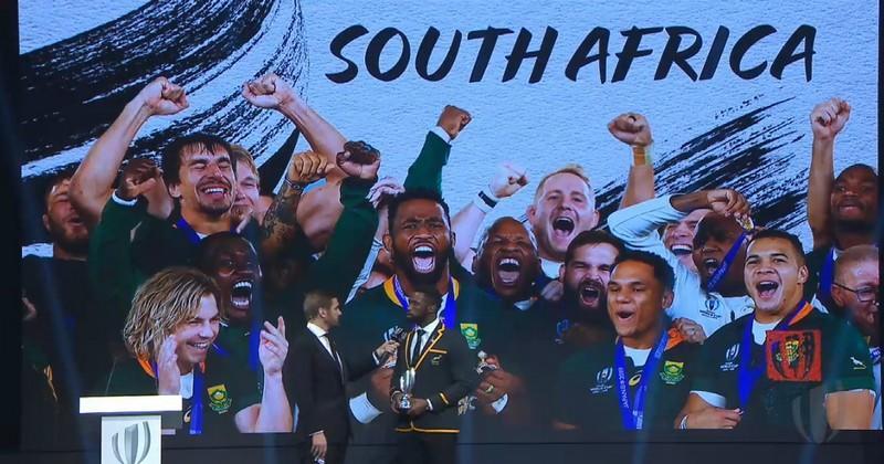 L'Afrique du Sud désignée Équipe World Rugby de l'Année