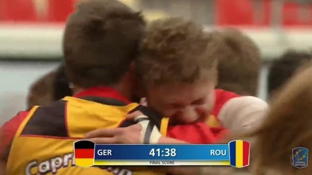 VIDEO. Rugby Europe Championship - L'Allemagne s'offre un succès historique sur la Roumanie (41-38)