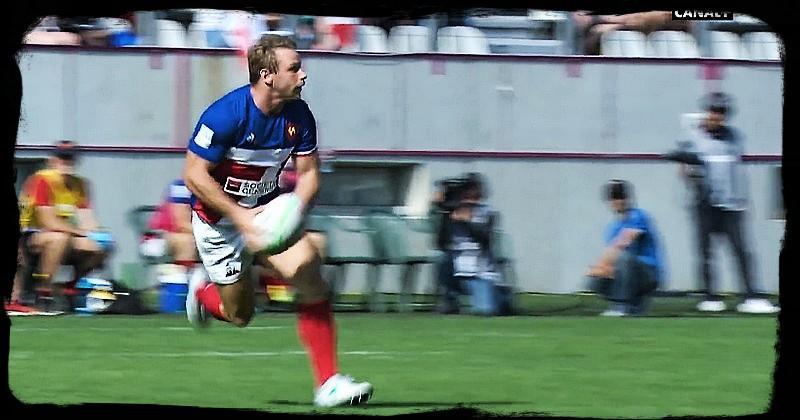 France 7 - MarvinO'Connor:''Rentrer dans l'histoire du 7français !''
