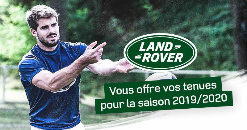 Land Rover vous offre vos tenues pour la saison 2019/2020, participe avec ton équipe !
