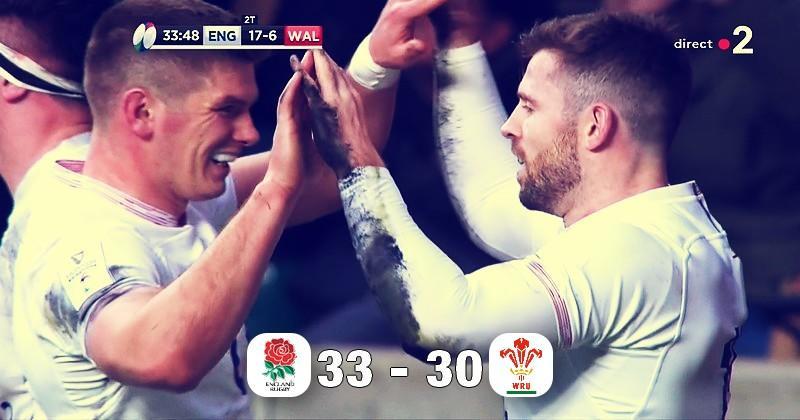 6 Nations - L'Angleterre met la pression sur les Bleus en dominant le Pays de Galles : que retenir ?
