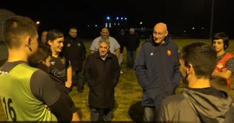 Bernard Laporte l'assure : ''le rugby français va bien !''