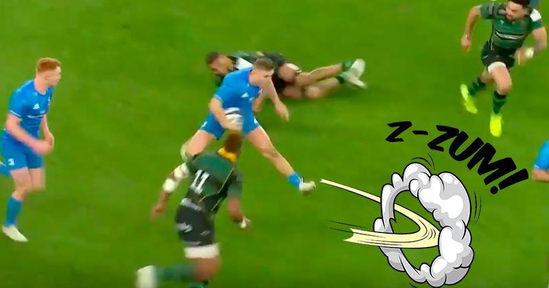 WOW ! Jordan Larmour élimine 7 défenseurs en mode Rugbytouch [Vidéo]