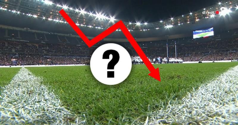 XV de France : on a comparé l'évolution des audiences des Bleus depuis six ans
