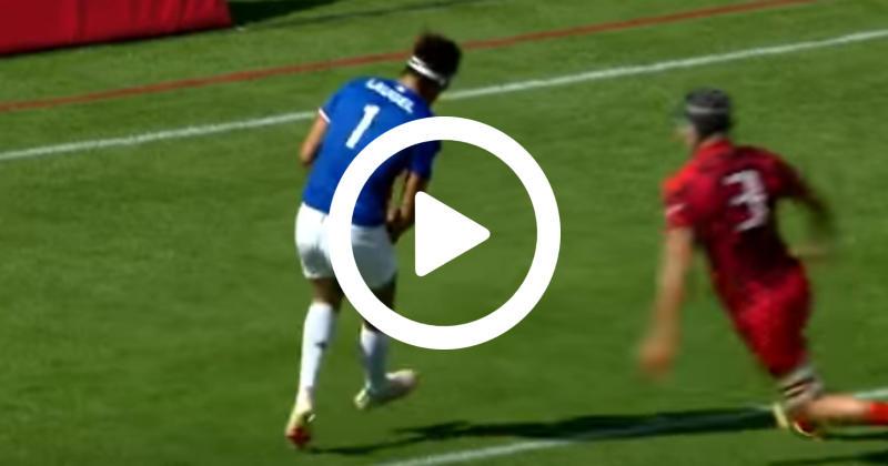 La boulette de Jonathan Laugel face au pays de Galles avec France 7 [VIDEO]