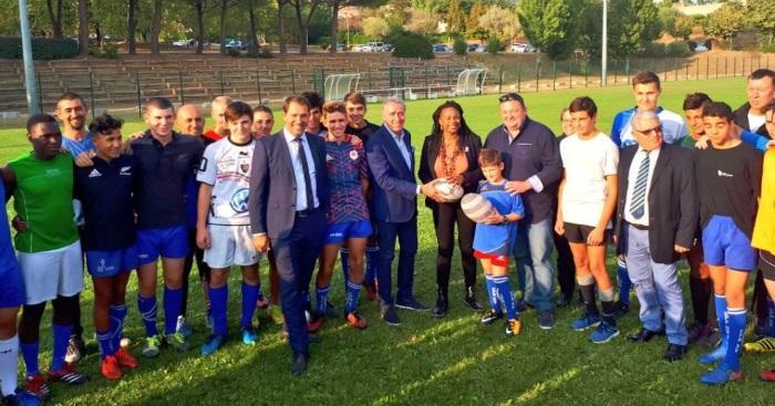 Rugby Amateur : le DLV XV prend ses marques, avec la réception des grands élus locaux et nationaux