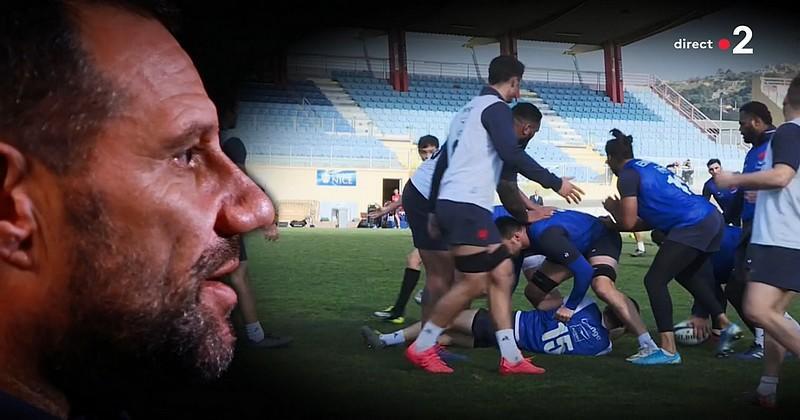 ''Le XV de France peut régner sur le rugby mondial pendant de longues années'', estime Labit