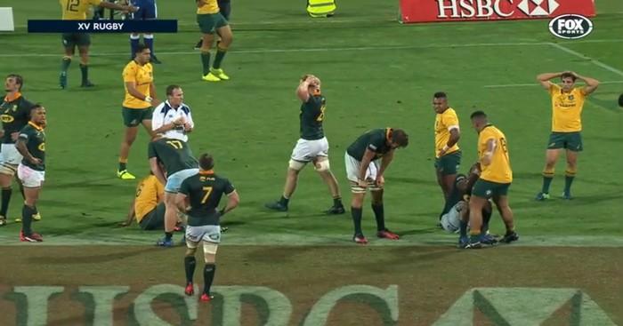 RESUME VIDEO. Rugby Championship : L'Australie et l'Afrique du Sud font match nul pour la 2e fois de leur histoire