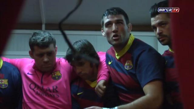 VIDEO. Le Barça joue aussi au rugby, la preuve avec ce discours d'avant-match émouvant