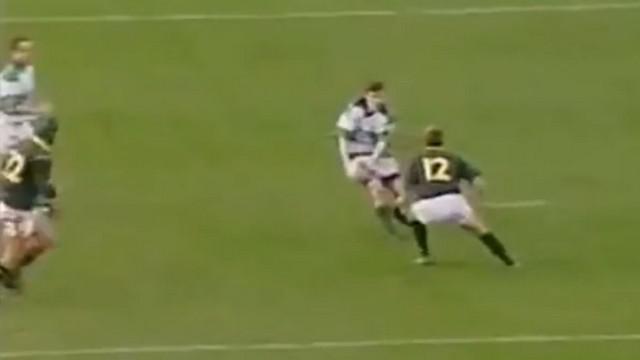 VIDEO. FLASHBACK. 2000. La sublime passe en aveugle de Brian O'Driscoll face aux Springboks