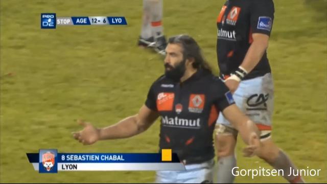 VIDEO. Sébastien Chabal : « En parlerait-on si c'était pas Chabal ? »