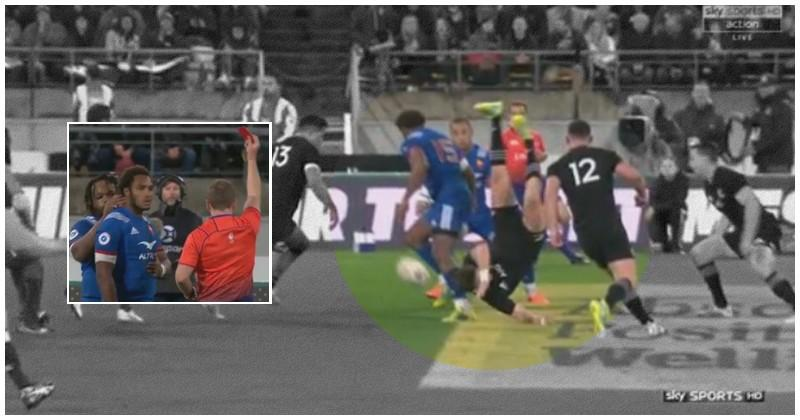 VIDÉO. XV de France. Le carton rouge de Benjamin Fall face aux All Blacks