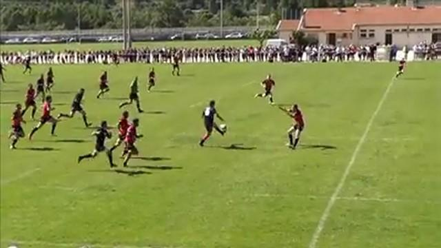 VIDEO. Fédérale 3 - Le centre de Vinay s'offre un exploit personnel de 80m à la 79e pour envoyer son équipe en quart