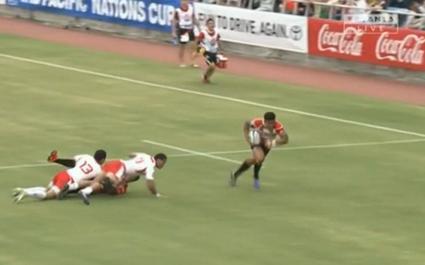 Le Japon se la joue Super 15 face aux Tonga